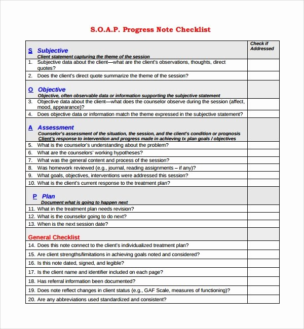 Physician Progress Note Template Elegant Sample Progress Note Template 9 Free Documents Download