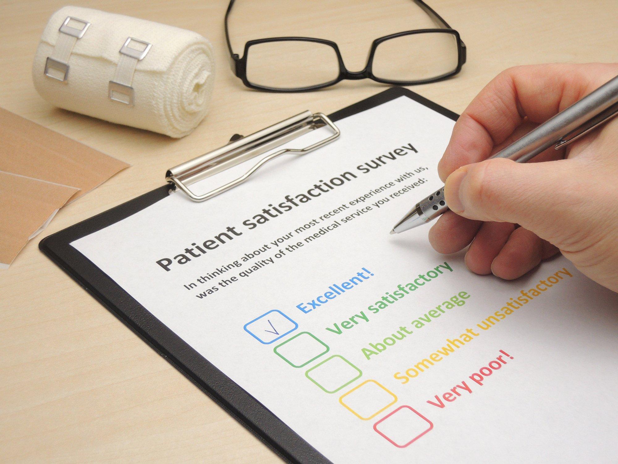 Physician Satisfaction Survey Questions Elegant Line Physician Reviews Don T Reflect Patient