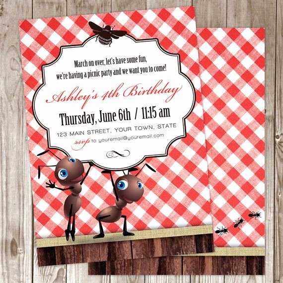 Picnic Birthday Party Invitations Luxury Picnic Invitation by Wildtreeboutique On Etsy $30 00
