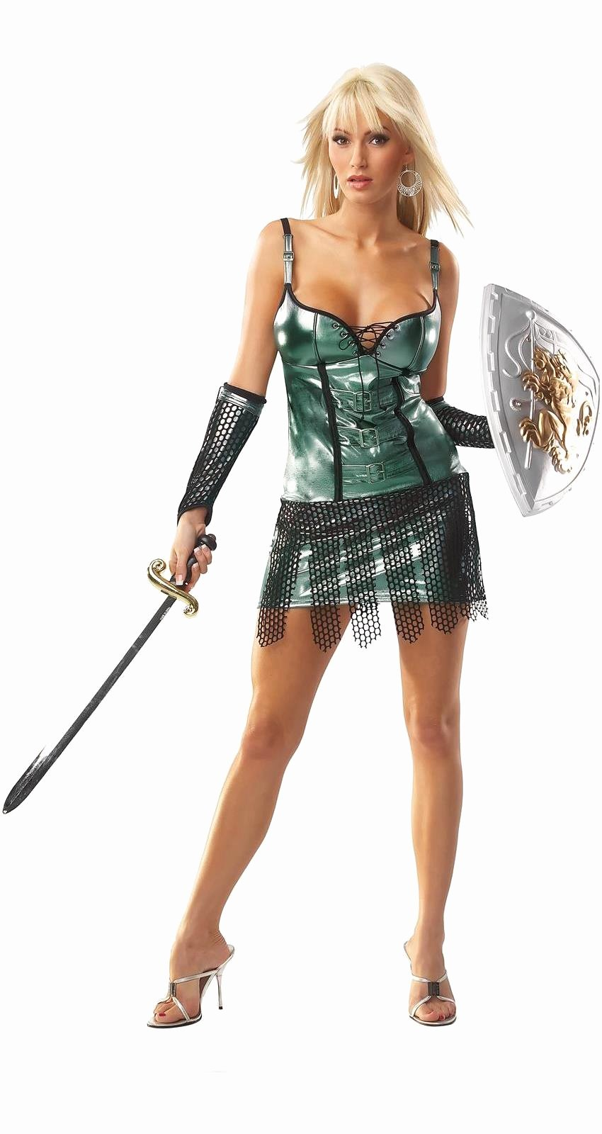 Pics Of Sexy Women New Female Gladiator Y Adult Costume Spicylegs