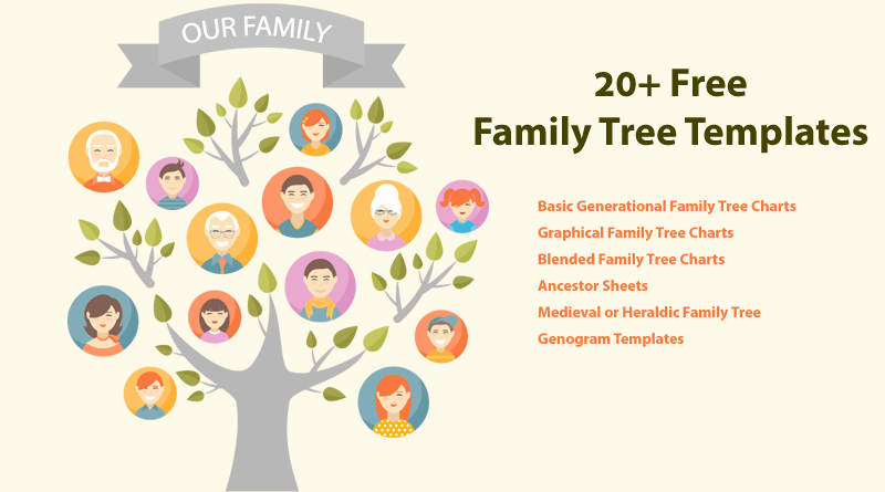 Picture Of Family Tree Chart Beautiful 20 Family Tree Templates & Chart Layouts