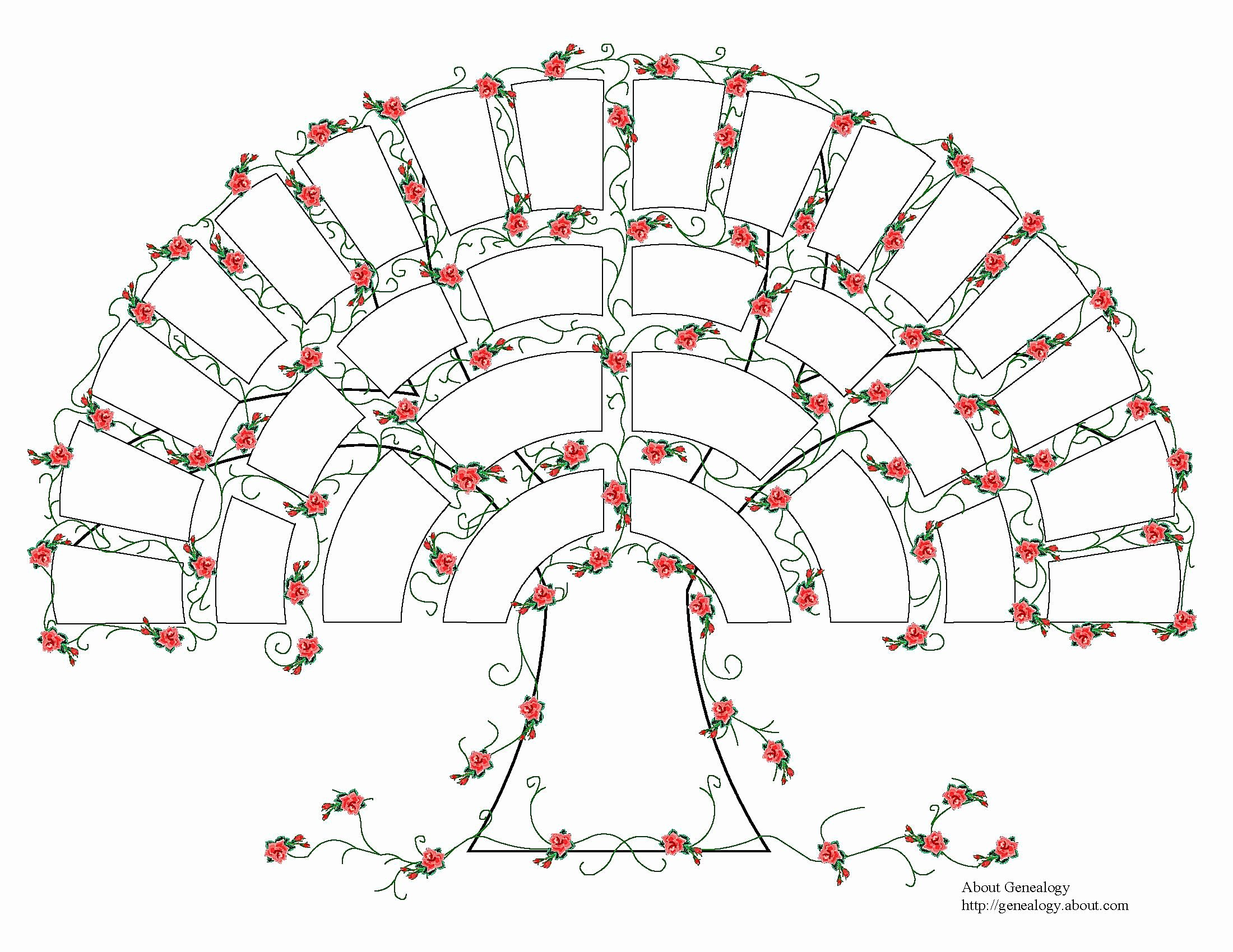Picture Of Family Tree Chart Elegant Free Genealogy Charts and forms
