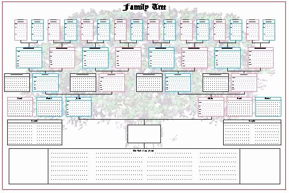 Picture Of Family Tree Chart Inspirational Ancestor Pedigree Chart