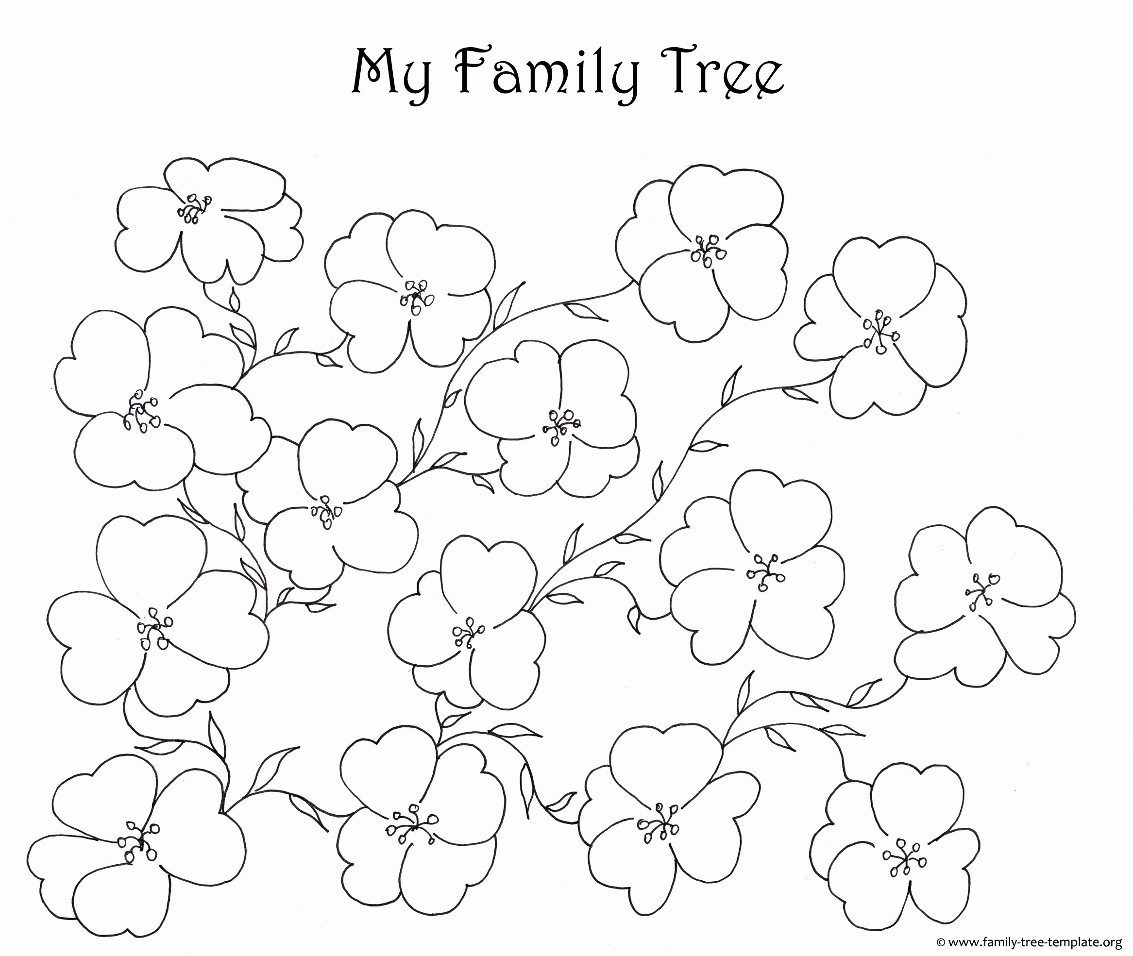 Picture Of Family Tree Chart New Make A Family Tree Easily with these Free Ancestry Charts