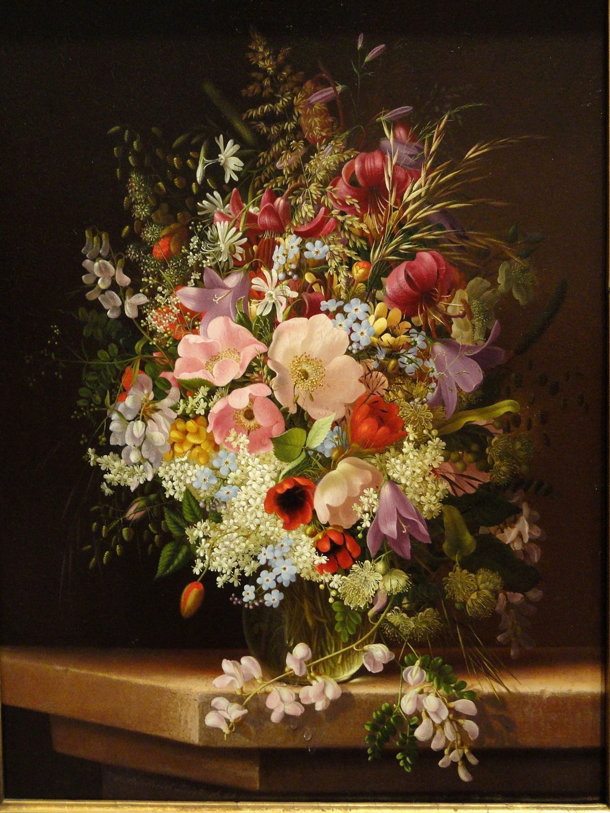 Picture Of Flowers to Paint Elegant Adelheid Dietrich