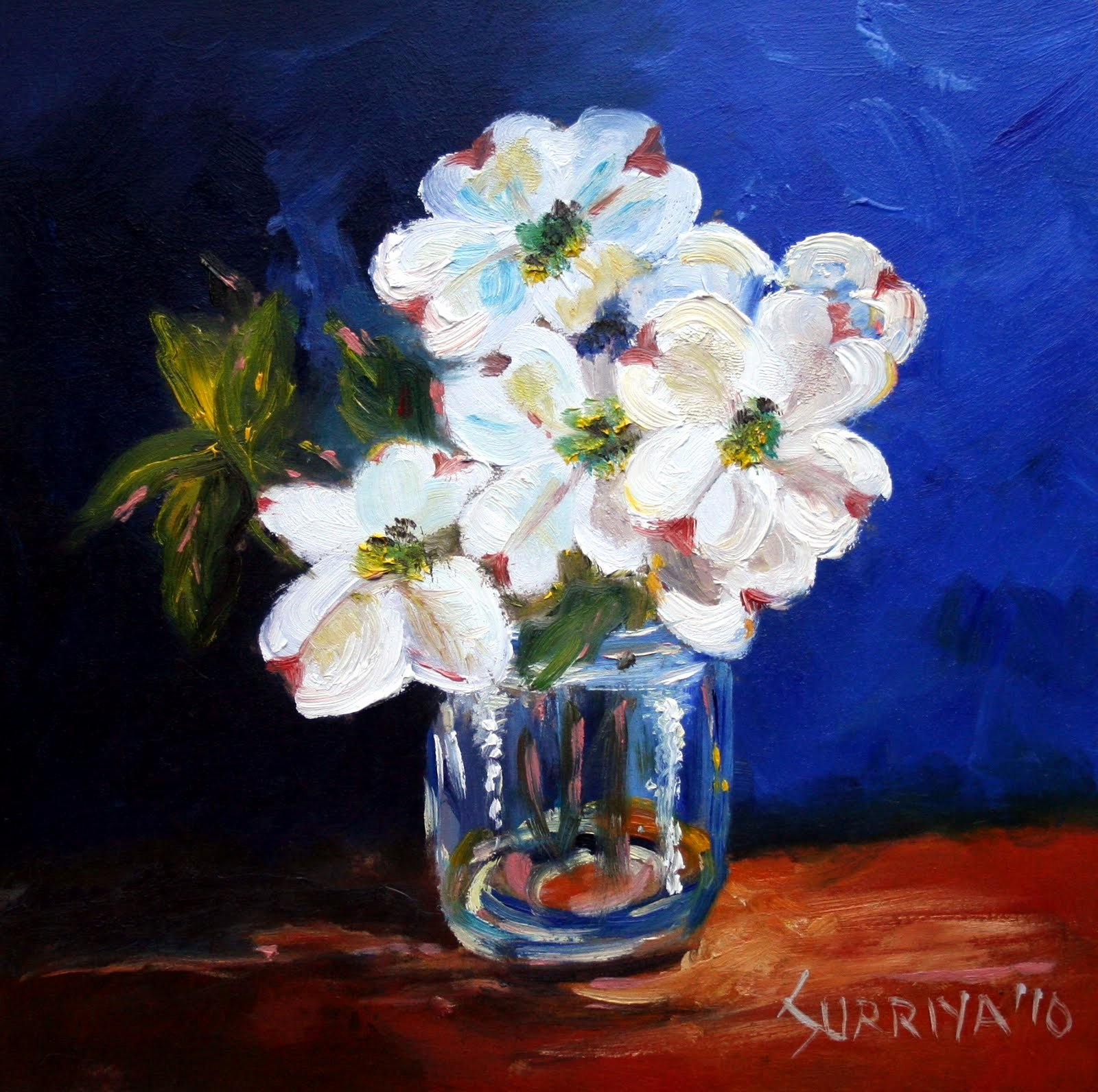 Picture Of Flowers to Paint Fresh Painting A Day by Surriya Simple Flowers