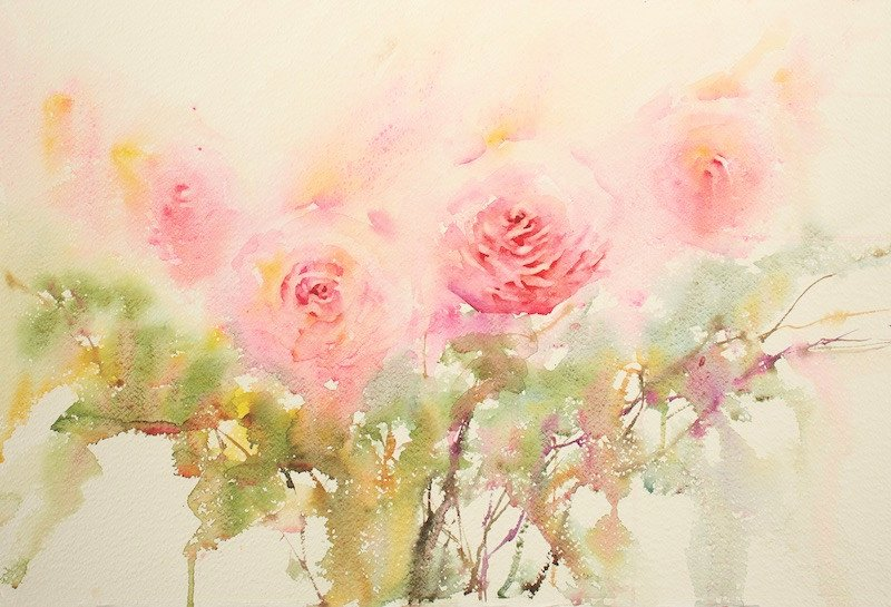 Picture Of Flowers to Paint Fresh Painting Watercolor Flowers