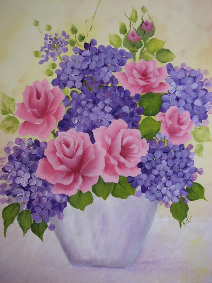 Picture Of Flowers to Paint Inspirational 25 Best Ideas About Hand Painted Canvas On Pinterest