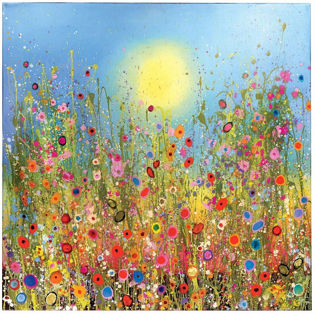 Picture Of Flowers to Paint Lovely Flowerscapes & Wild Flower Paintings