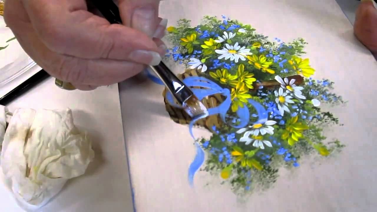 Picture Of Flowers to Paint Unique Floral Techniques Free Lesson Of Decorative Painting by
