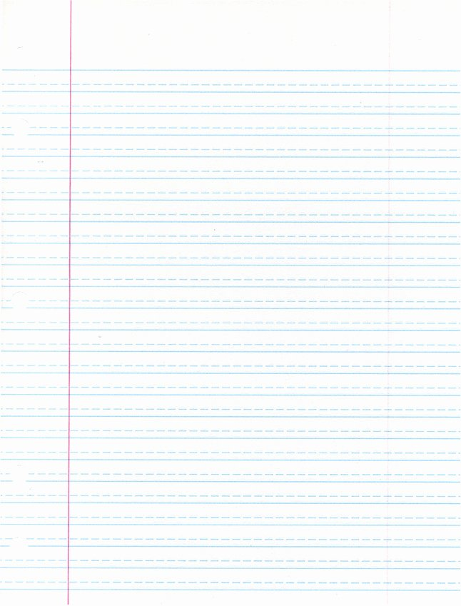 Picture Of Lined Paper Awesome School Smart Handwriting Paper Short Way Ruled 10 1 2 X