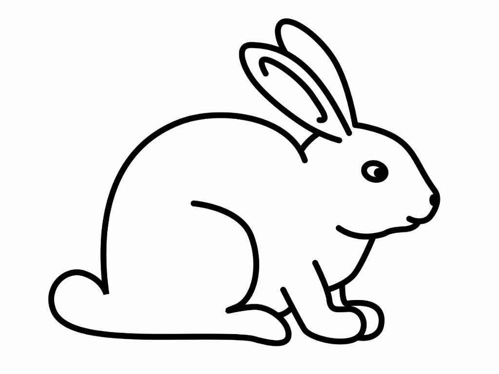 Pictures Of Bunnies to Print Beautiful Free Printable Rabbit Coloring Pages for Kids