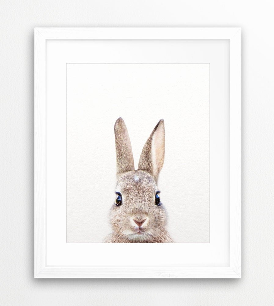 Pictures Of Bunnies to Print Best Of Rabbit Print Woodland Nursery Decor Rabbit Bunny