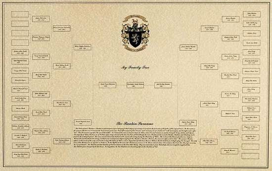Pictures Of Family Trees Examples Best Of Example Of A Family Tree with Family Crest & Surname History