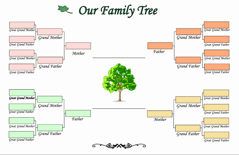 Pictures Of Family Trees Examples Fresh Genogram Examples Google Search Job Ideas