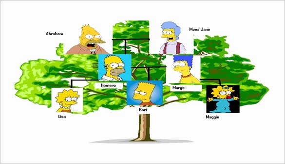 Pictures Of Family Trees Examples Luxury 8 Powerpoint Family Tree Templates Pdf Doc Ppt Xls