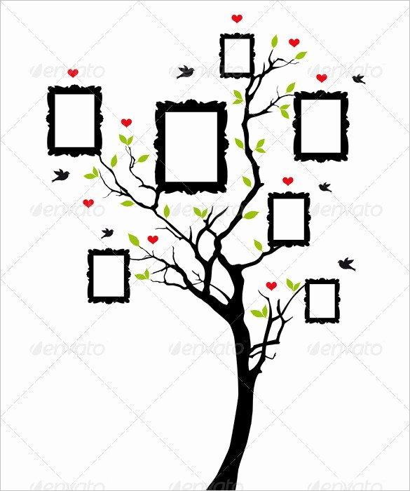 Pictures Of Family Trees Examples New Family Tree Template – 9 Free Sample Example