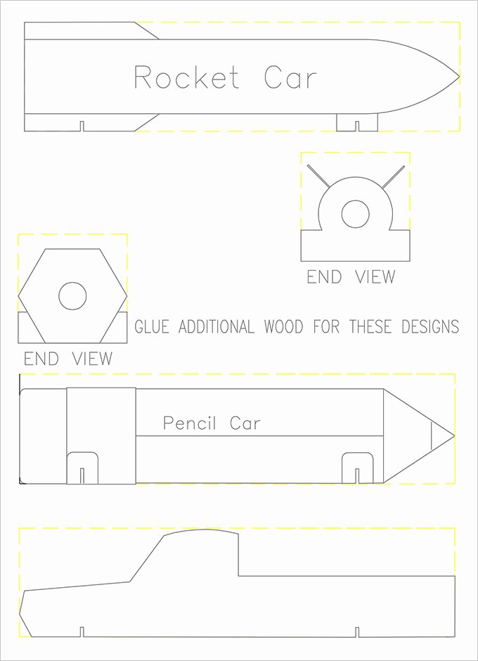 Pine Derby Car Templates Beautiful 27 Awesome Pinewood Derby Templates – Free Sample