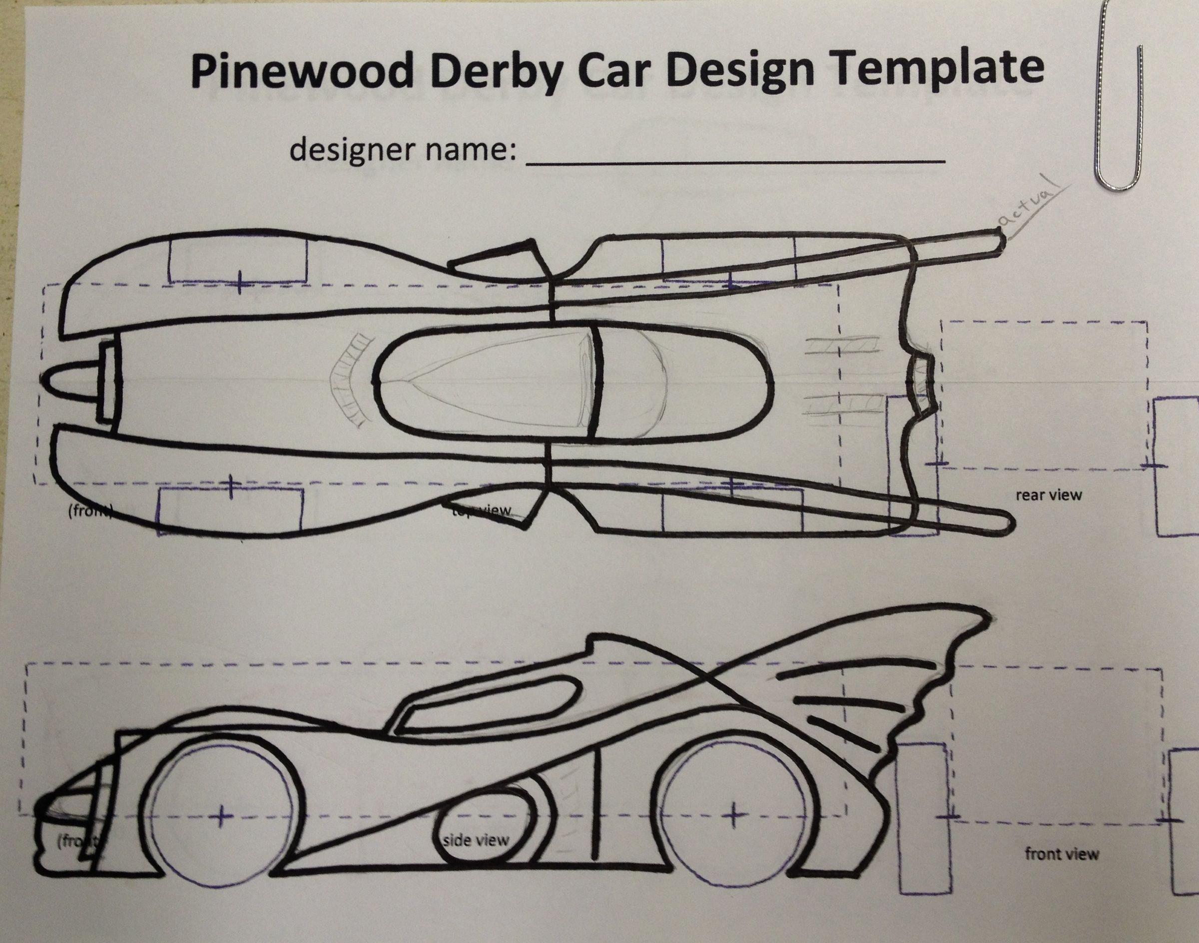 Pine Derby Car Templates Lovely I Started with some Scrap Pine 1×6 Wood that I Had Laying