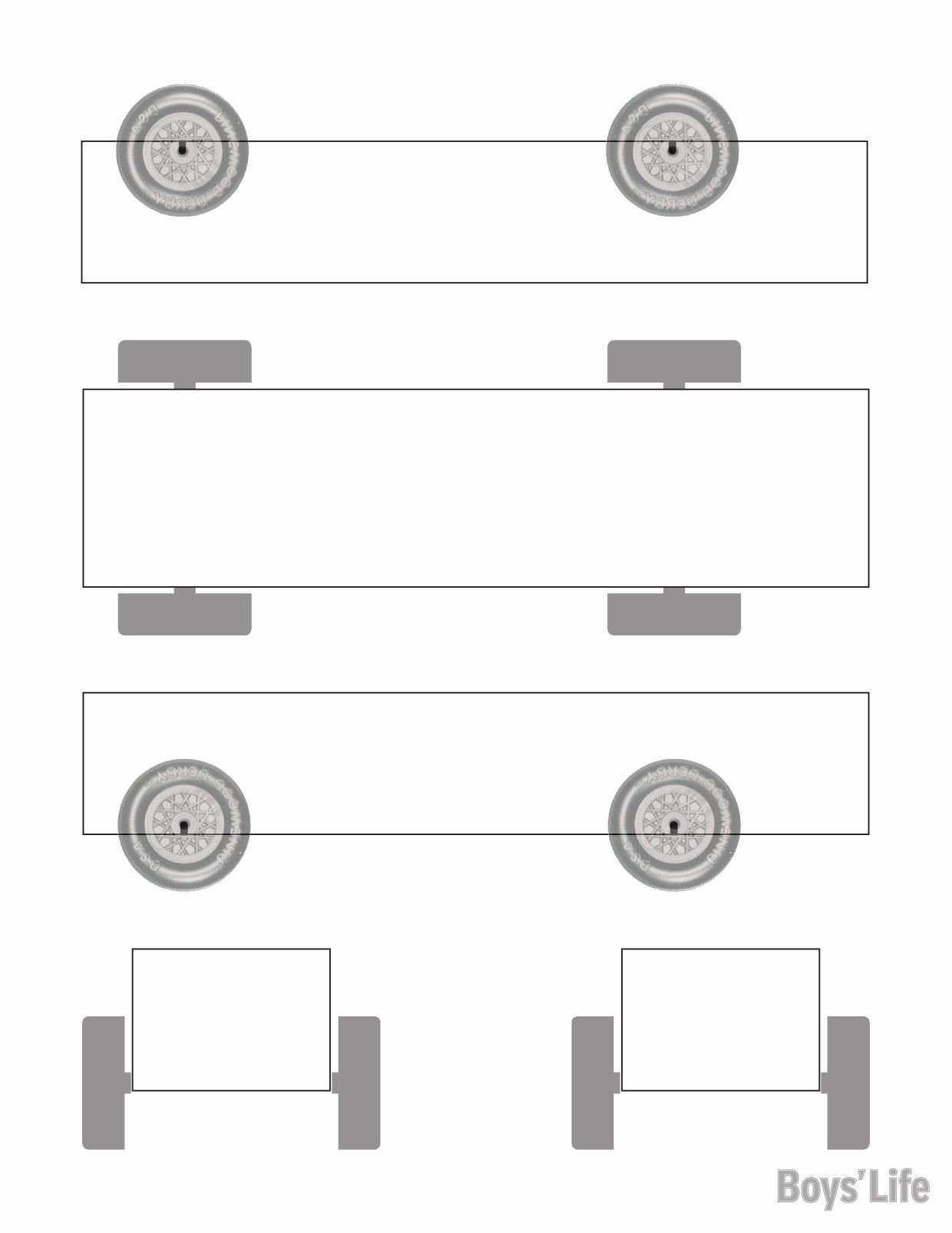 Pinewood Derby Car Plans Free Elegant Use This Handy Template to Sketch Out Your Pinewood Derby
