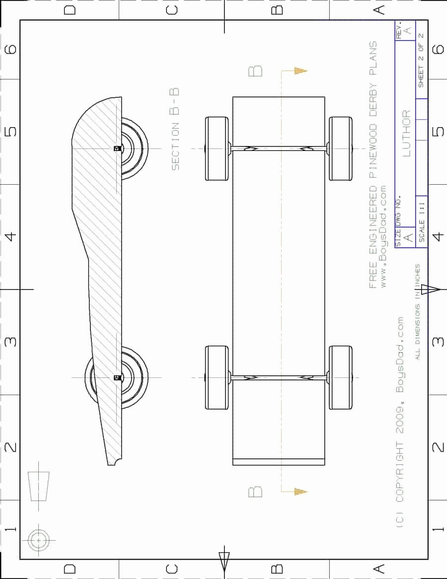 Pinewood Derby Car Plans Free Fresh 39 Awesome Pinewood Derby Car Designs & Templates