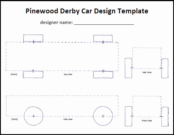 Pinewood Derby Car Plans Free Fresh Pinewood Derby Car Templates