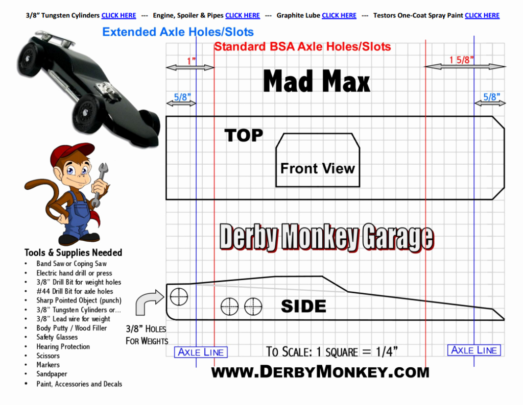 Pinewood Derby Car Plans Free New 27 Awesome Pinewood Derby Templates – Free Sample