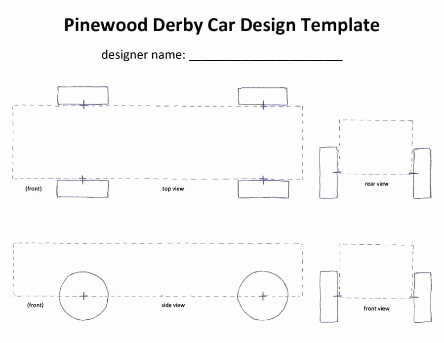 Pinewood Derby Car Plans Free New 39 Awesome Pinewood Derby Car Designs & Templates