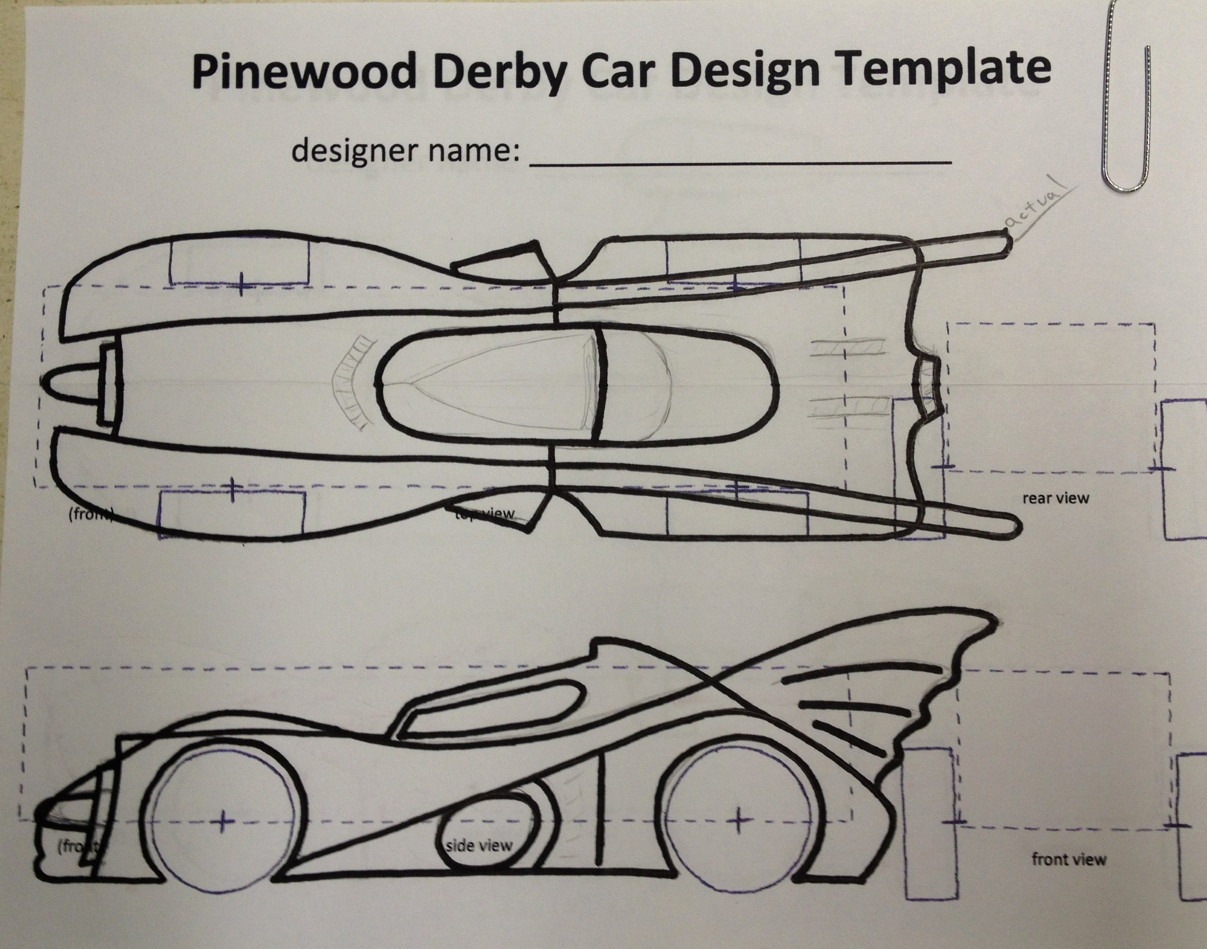 Pinewood Derby Car Plans Free New How to Build An Awesome Batmobile Pinewood Derby Car