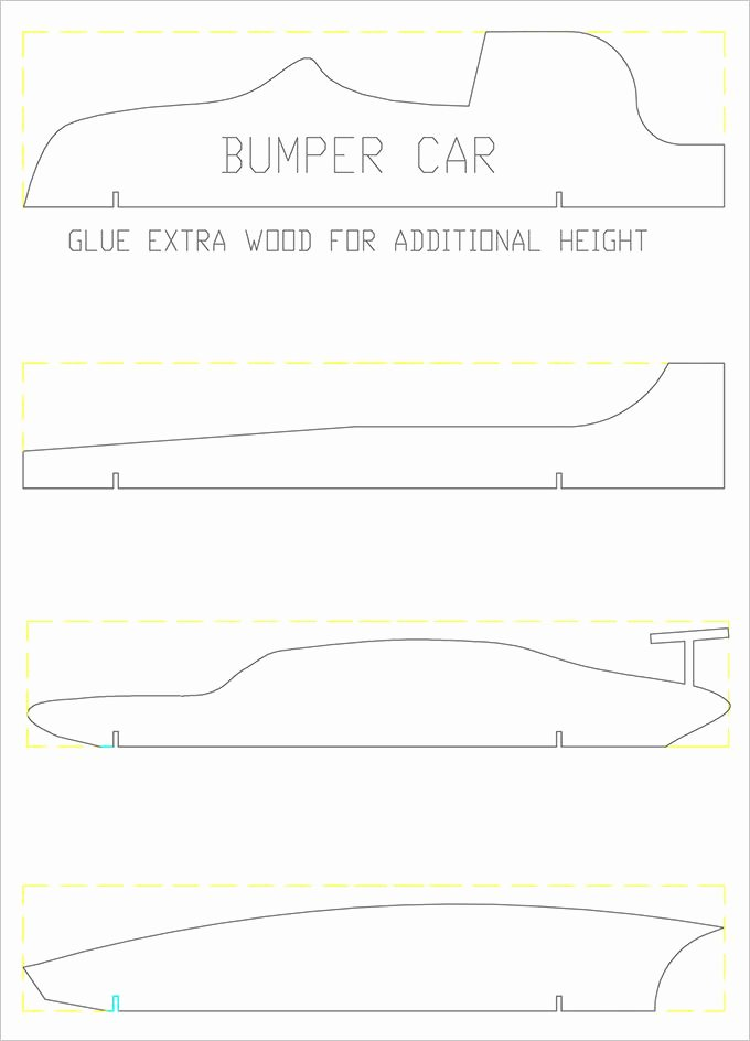 Pinewood Derby Car Plans Free Unique 21 Cool Pinewood Derby Templates – Free Sample Example
