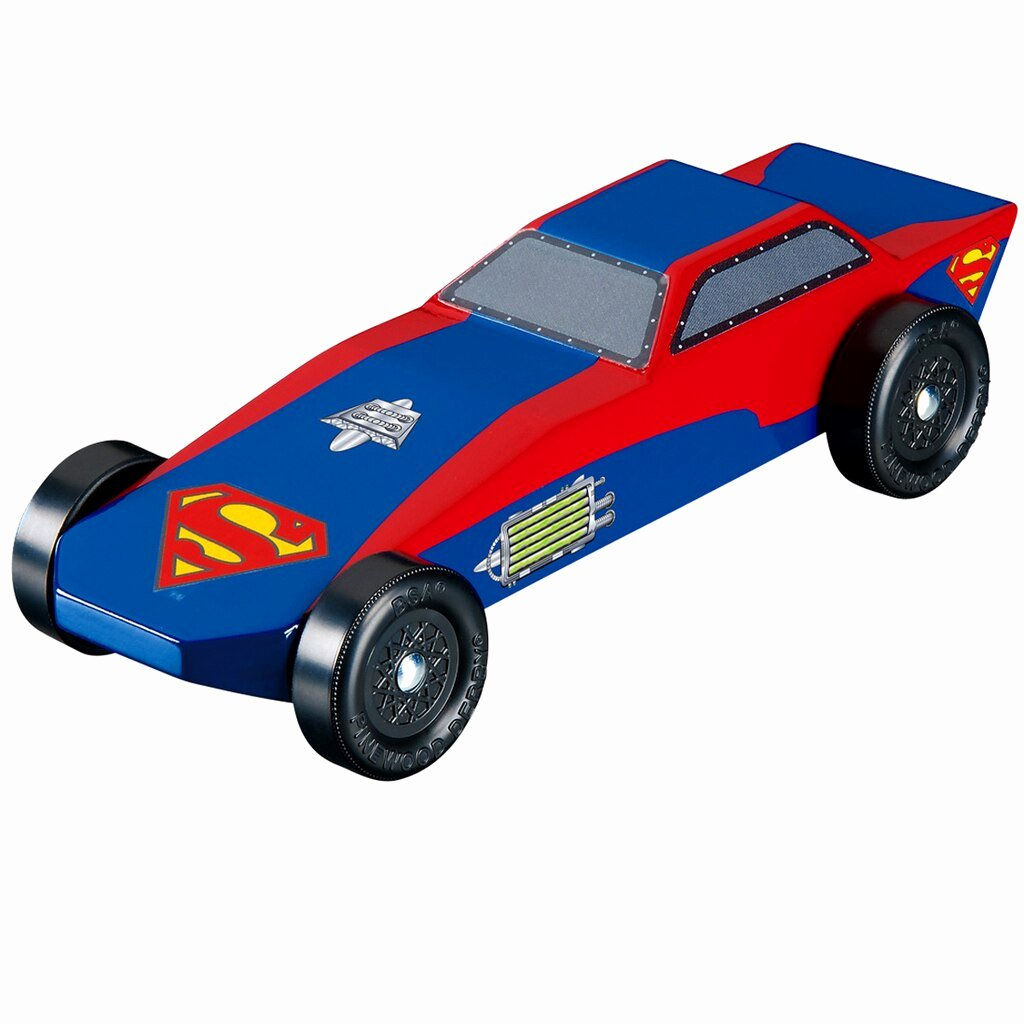 Pinewood Derby Car Shapes Best Of Revell Pinewood Derby Superman™ Sports Car Racer Kit