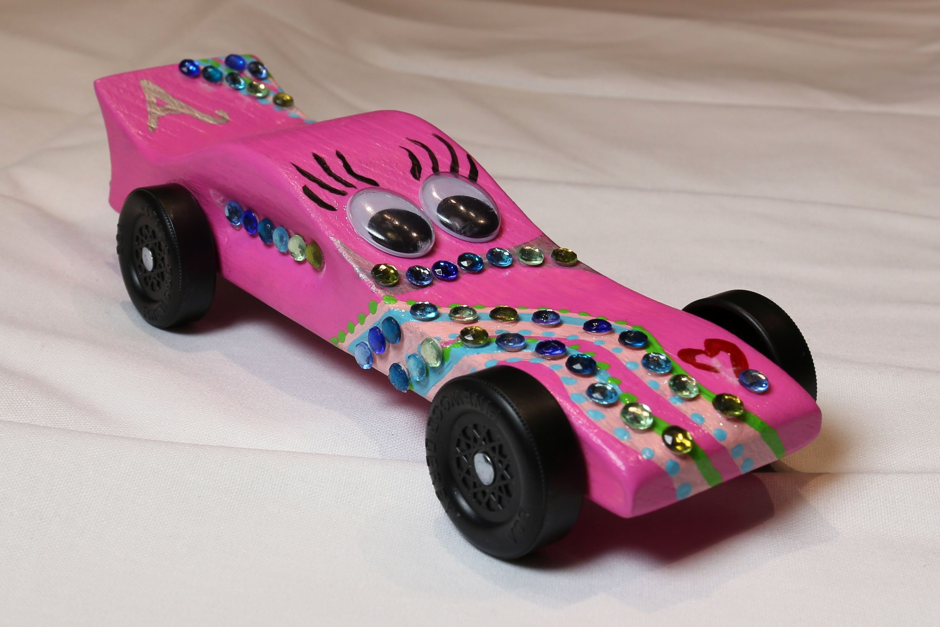 Pinewood Derby Car Shapes Lovely Pink Pinewood Derby Car