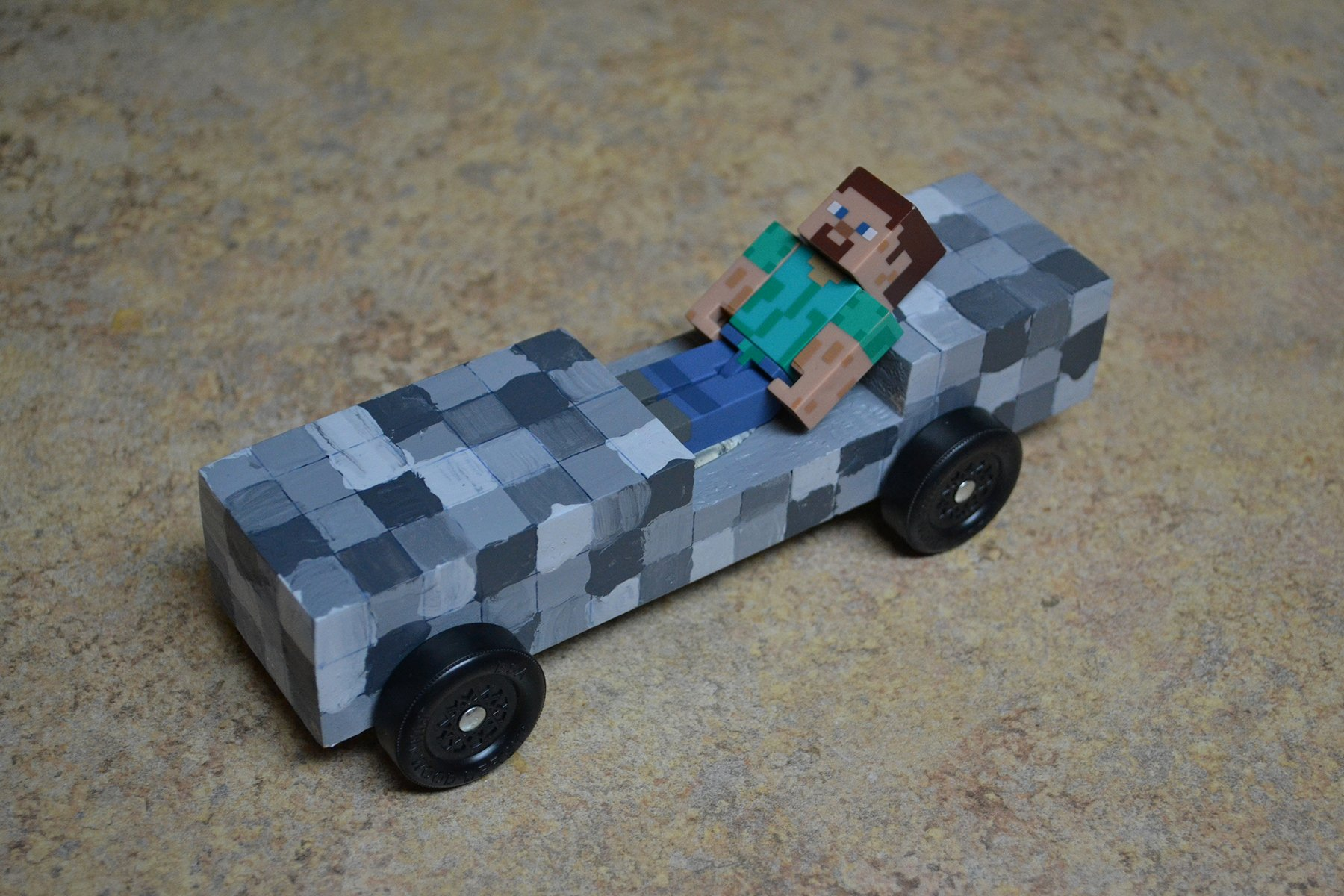 Pinewood Derby Car Stencils Lovely Minecart – Boys Life Magazine