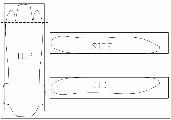 Pinewood Derby Car Templates Awesome Car Templates