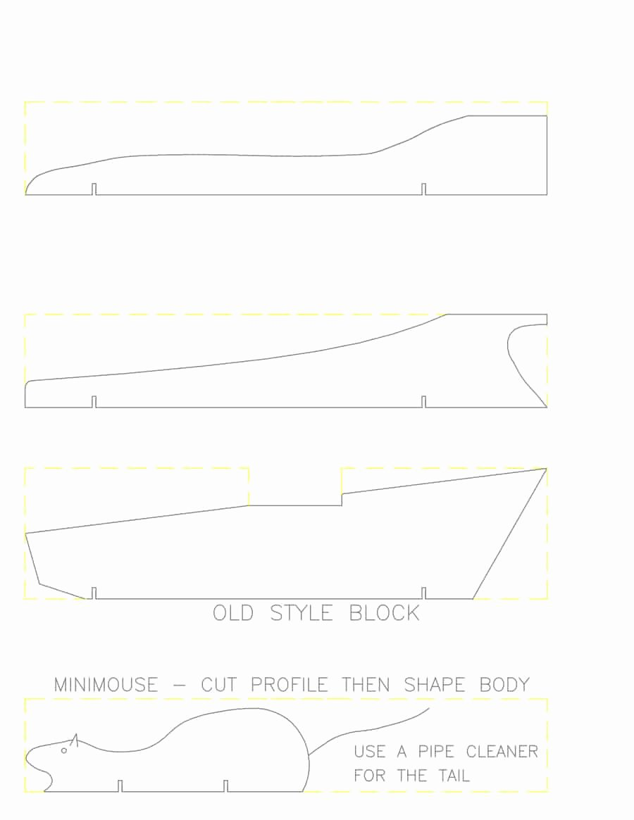 Pinewood Derby Car Templates Best Of 39 Awesome Pinewood Derby Car Designs & Templates