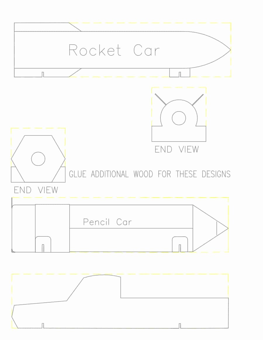 Pinewood Derby Car Templates Inspirational 39 Awesome Pinewood Derby Car Designs & Templates