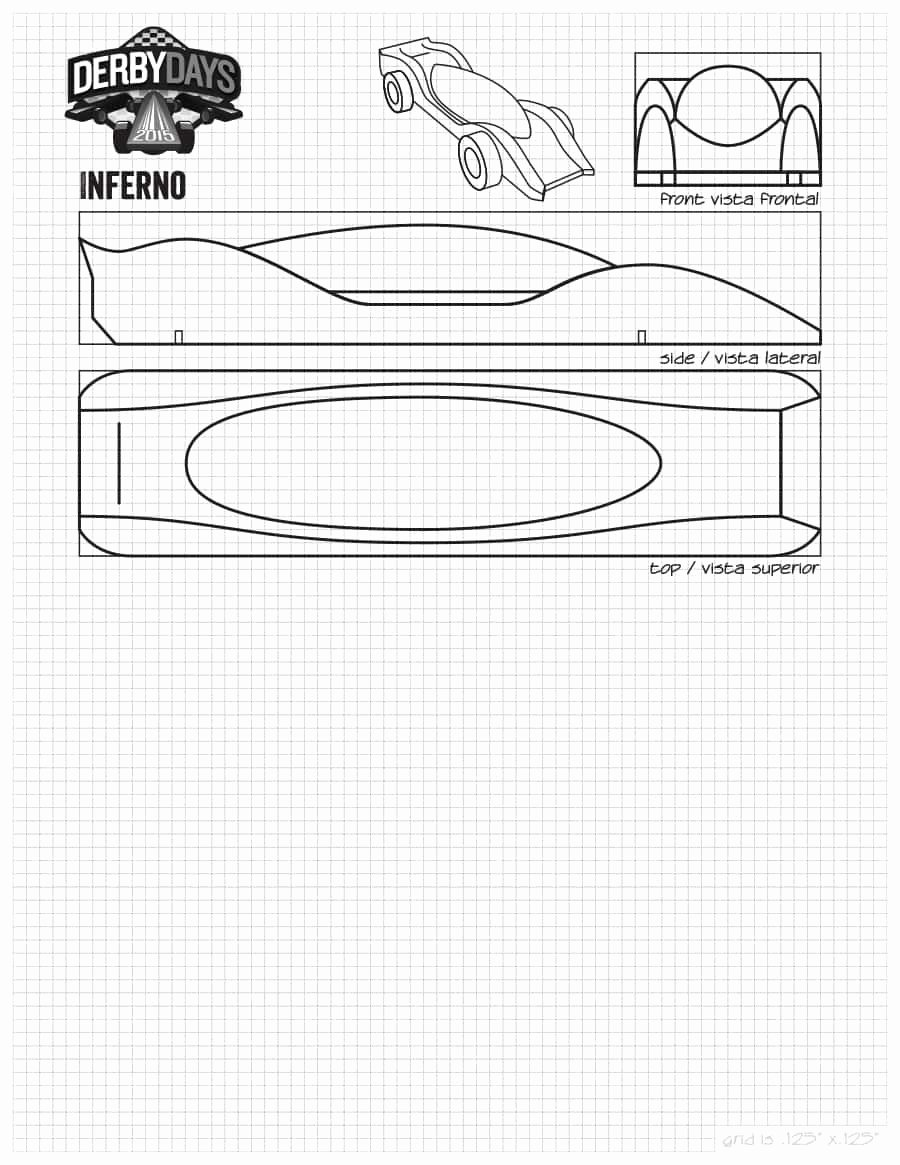 Pinewood Derby Car Templates Luxury 39 Awesome Pinewood Derby Car Designs & Templates