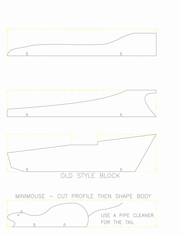 Pinewood Derby Car Templates Printable Best Of Pinewood Derby Car Template