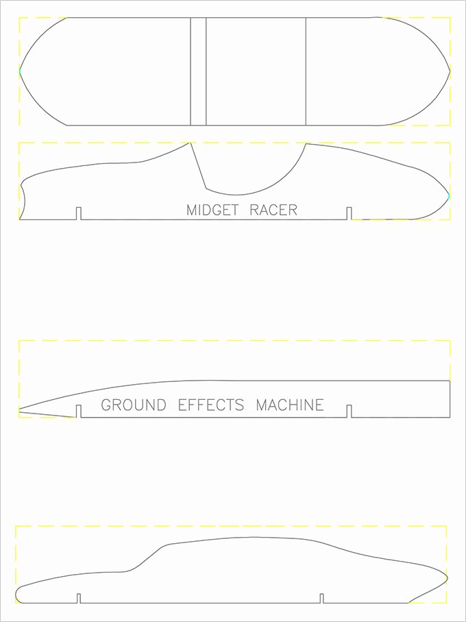 Pinewood Derby Car Templates Printable Best Of Pinewood Derby Templates