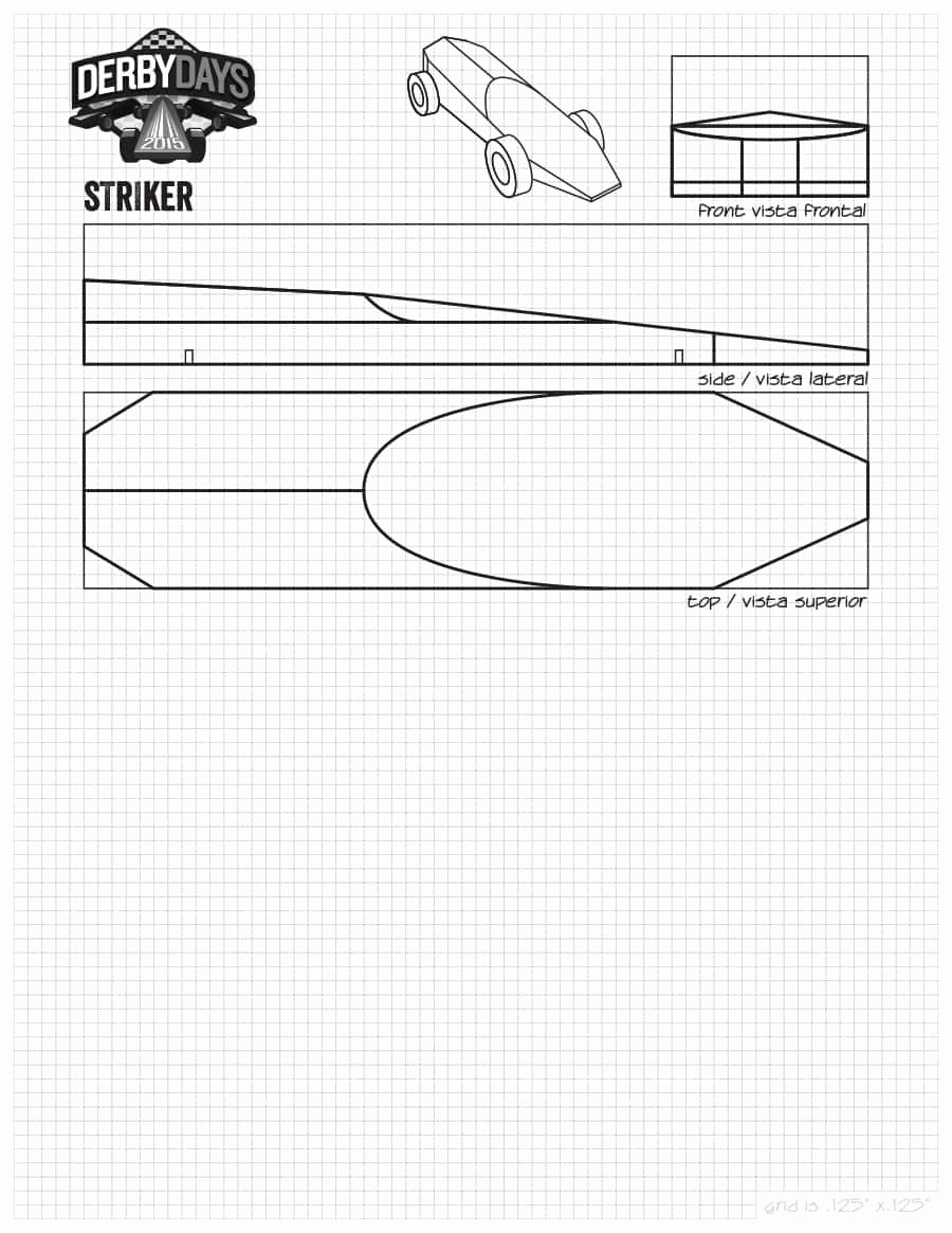 Pinewood Derby Car Templates Printable Elegant 39 Awesome Pinewood Derby Car Designs & Templates