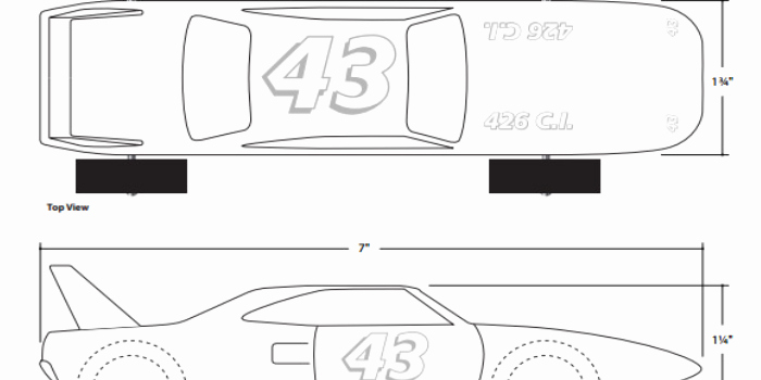 Pinewood Derby Car Templates Printable Inspirational 27 Awesome Pinewood Derby Templates – Free Sample