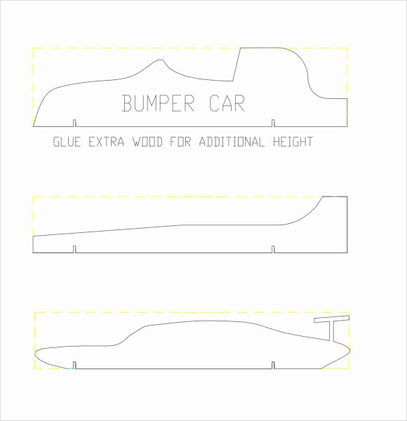 Pinewood Derby Car Templates Printable Luxury Pinewood Derby Car Templates Pdf Invitation Templates