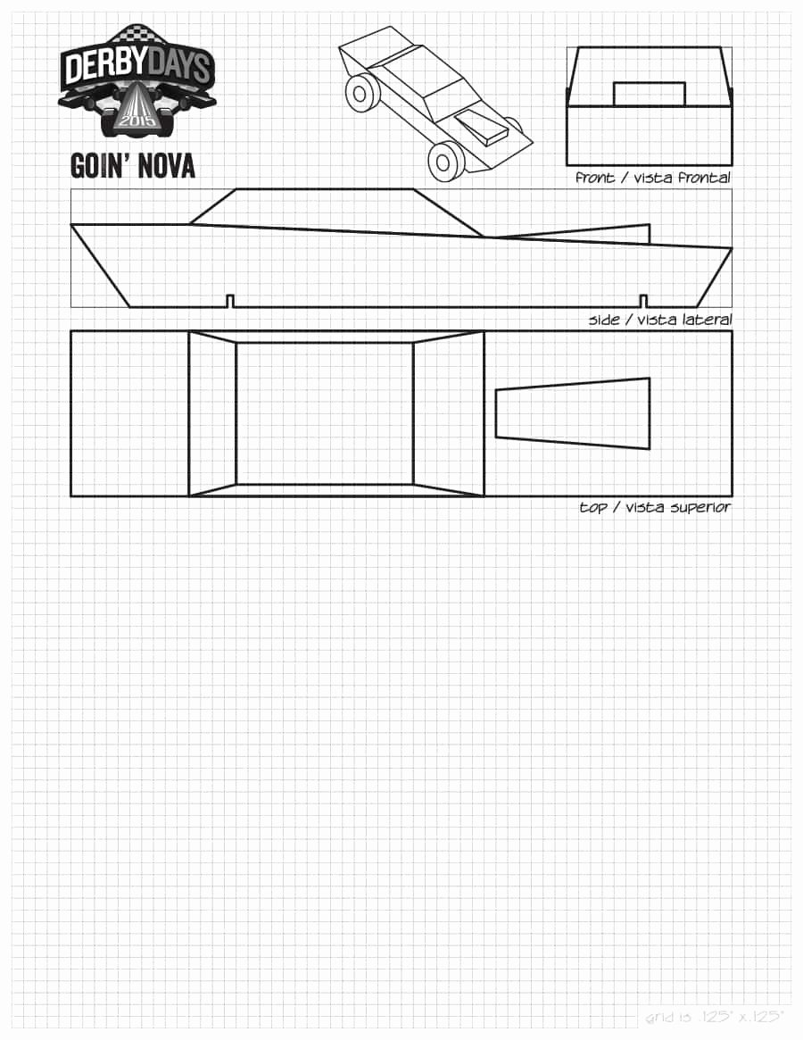 Pinewood Derby Car Templates Printable Unique 39 Awesome Pinewood Derby Car Designs & Templates