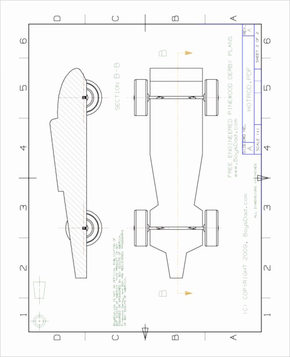 Pinewood Derby Cars Templates Free Elegant 27 Awesome Pinewood Derby Templates – Free Sample