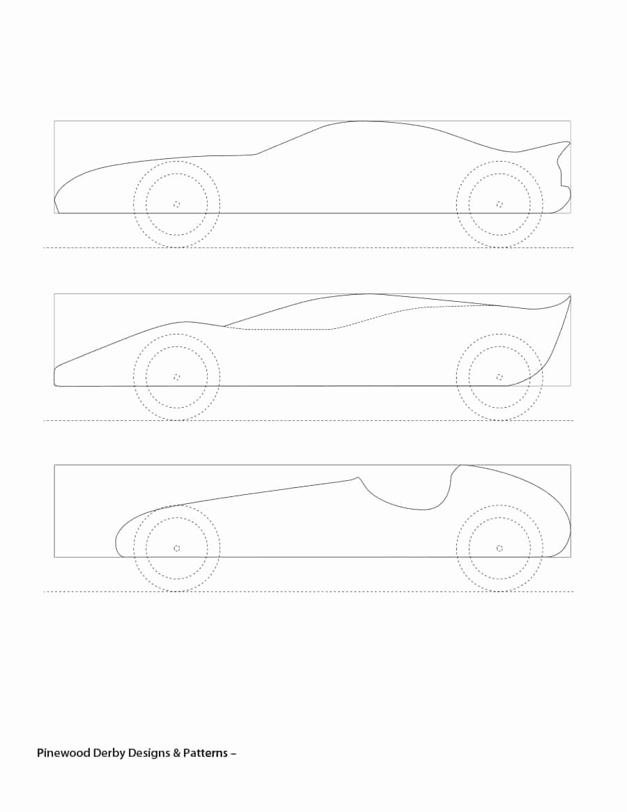 Pinewood Derby Cars Templates Free Unique 39 Awesome Pinewood Derby Car Designs & Templates