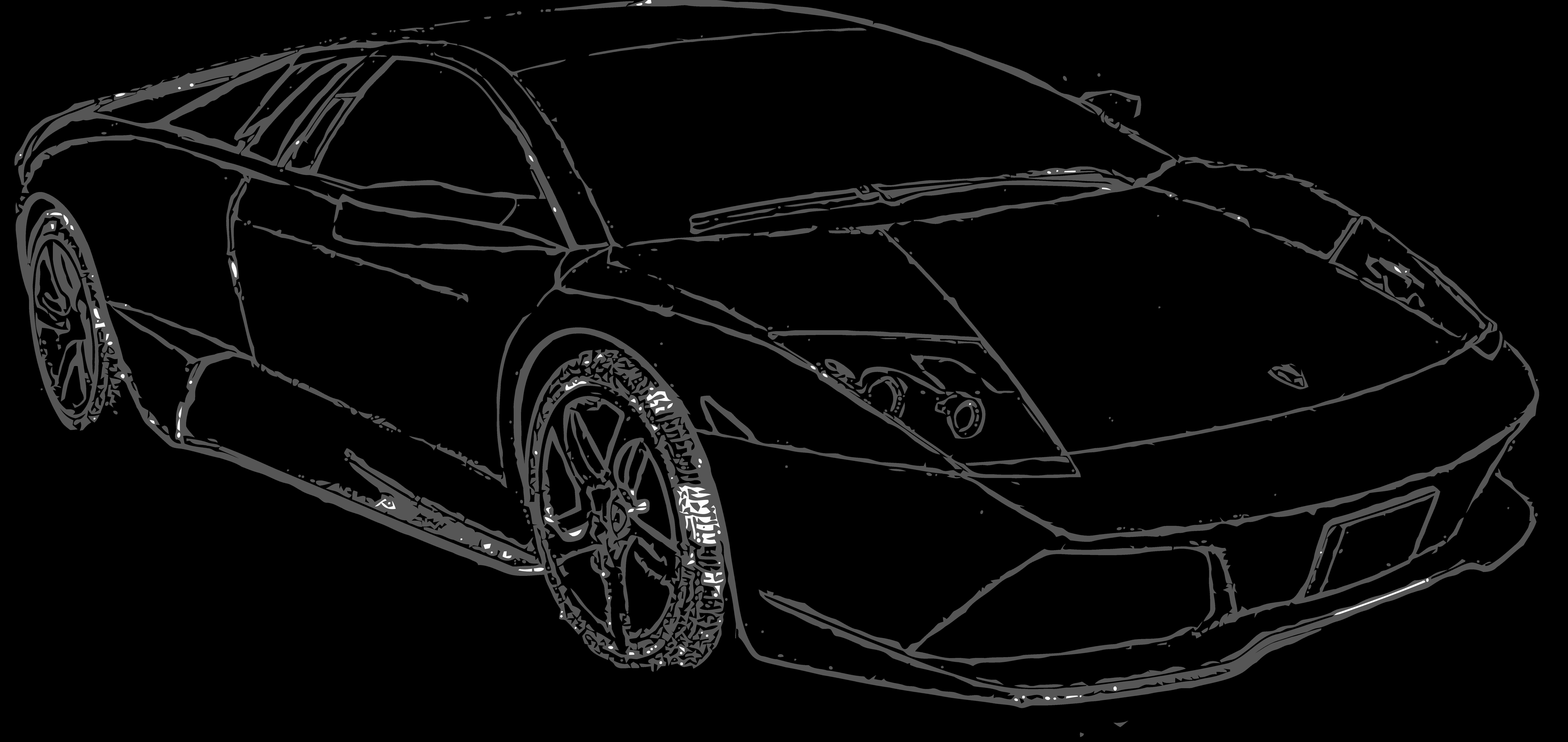 Pinewood Derby Lamborghini Template Elegant Free to Use Lamborghini Murcielago Lineart by E A 2 On