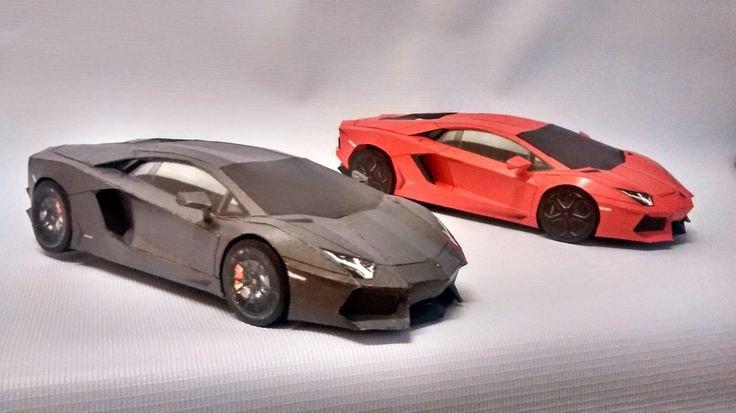 Pinewood Derby Lamborghini Template New Best Papercraft Car Template Lamborghini Aventador 3d