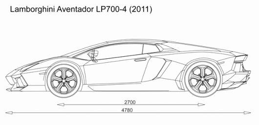 Pinewood Derby Lamborghini Template Unique Automotive Blueprints