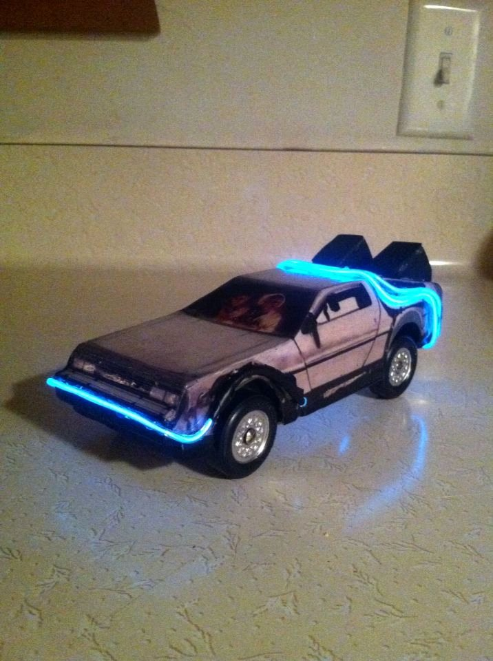 Pinewood Derby Lamborghini Template Unique Delorean Time Machine Pinewood Derby Car
