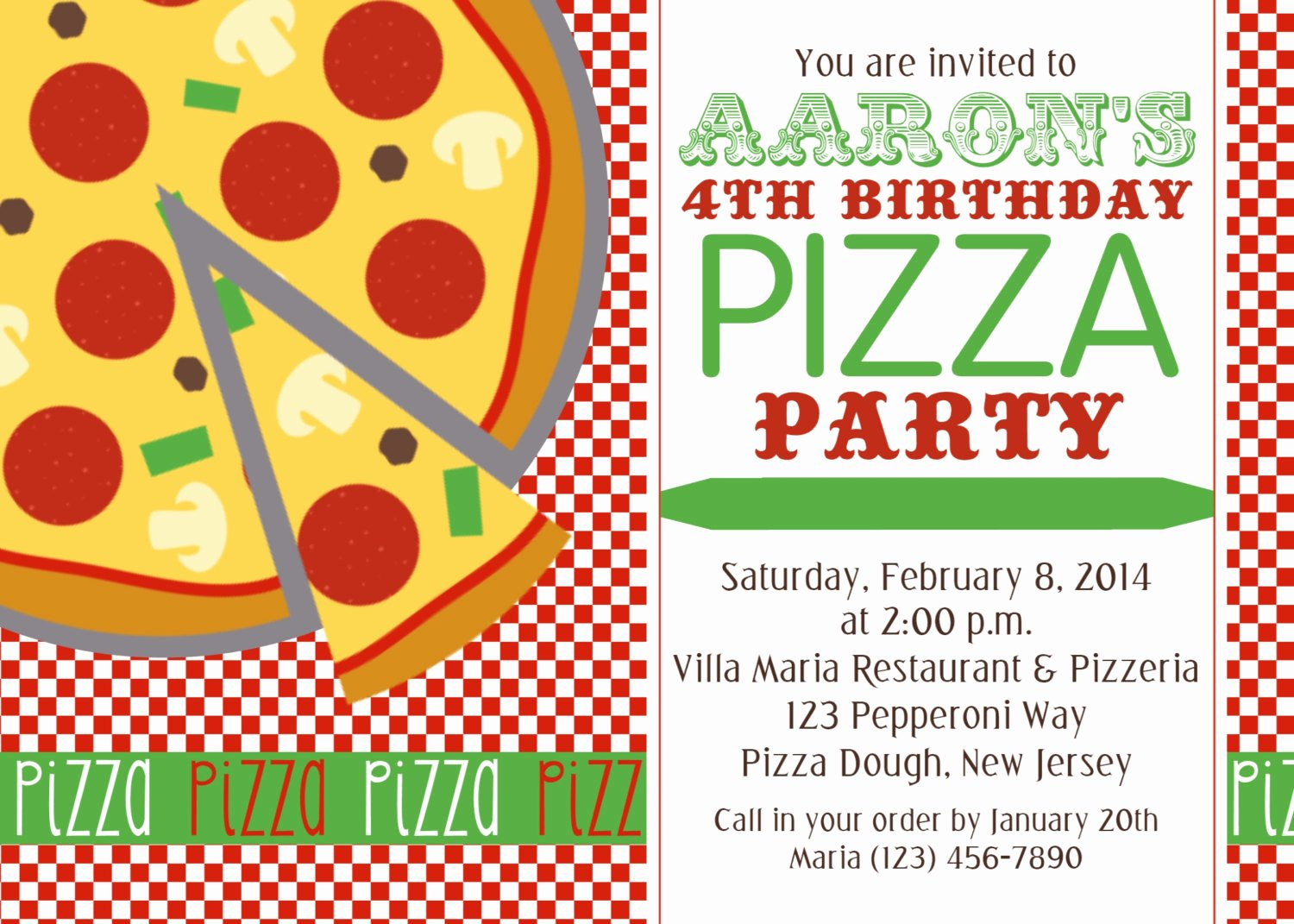 Pizza Party Invitation Template Word Best Of Chandeliers & Pendant Lights